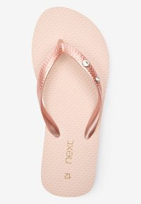 Next - T-bar sandals - pink - 4