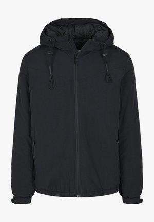 HOODED EASY JACKET - Light jacket - black