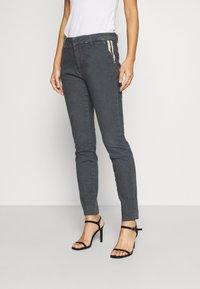 Mos Mosh - BLAKE GALLERY PANT - Slim fit jeans - grey - 0
