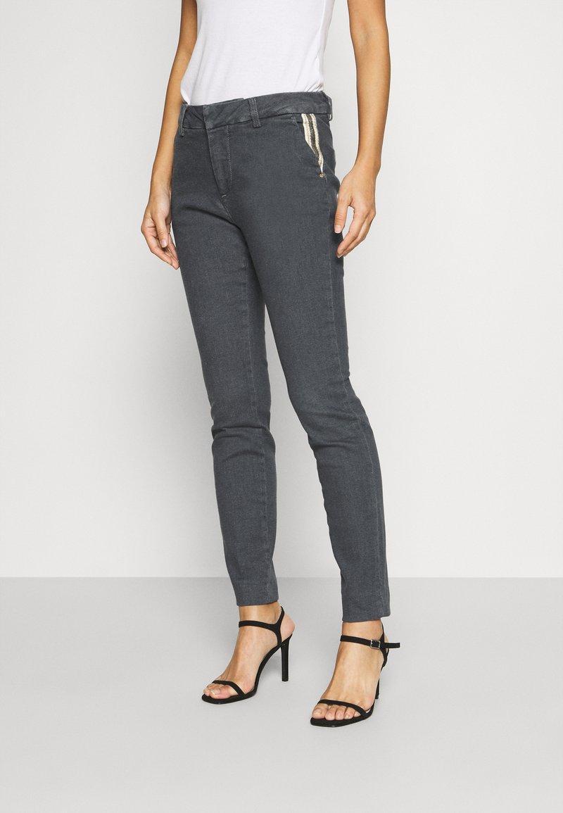 Mos Mosh - BLAKE GALLERY PANT - Slim fit jeans - grey