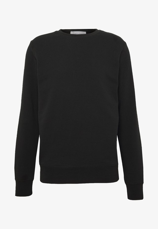 UNISEX THE ORGANIC SWEATSHIRT - Felpa - jet black