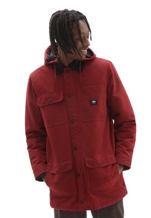 MN DRILL CHORE COAT LONG MTE-1 - Short coat - pomegranate