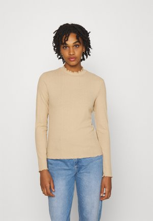 VMMAYA - Long sleeved top - beige