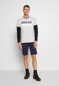 Bogner Fire + Ice - FOX - T-shirt print - mottled grey - 1
