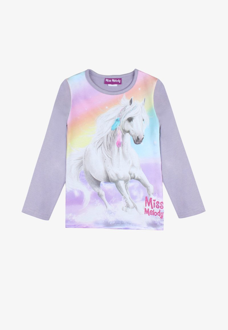 Miss Melody - Long sleeved top - twilight purple