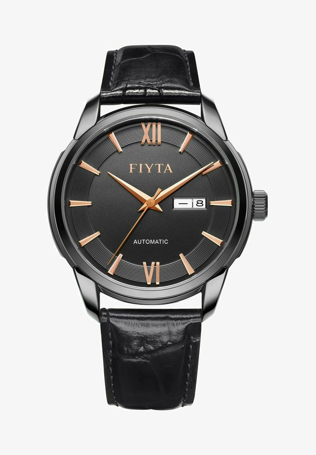 CLASSIC AUTOMATIKUHR - Watch - black