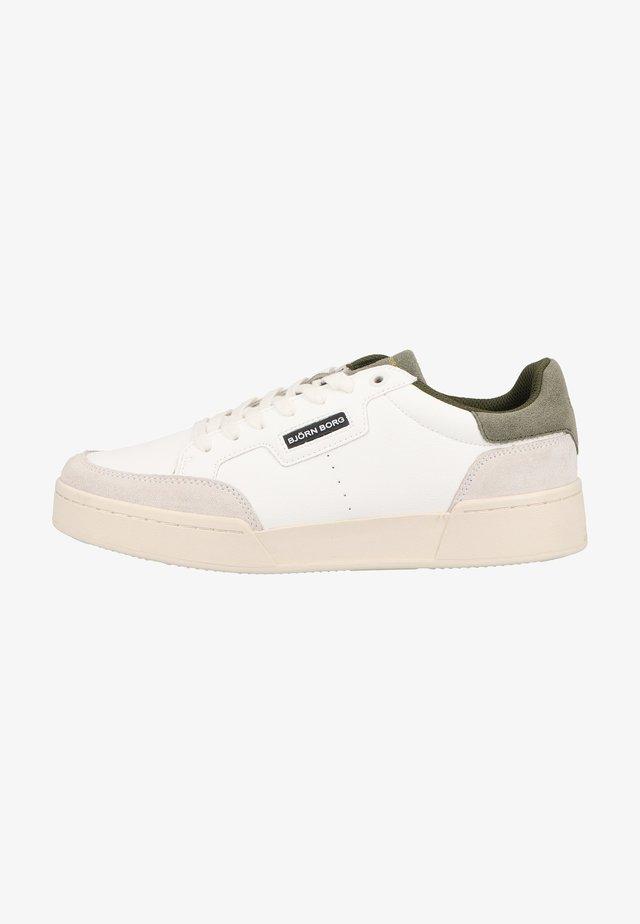 Sneakers laag - wht-grn