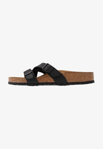YAO - Slippers - black