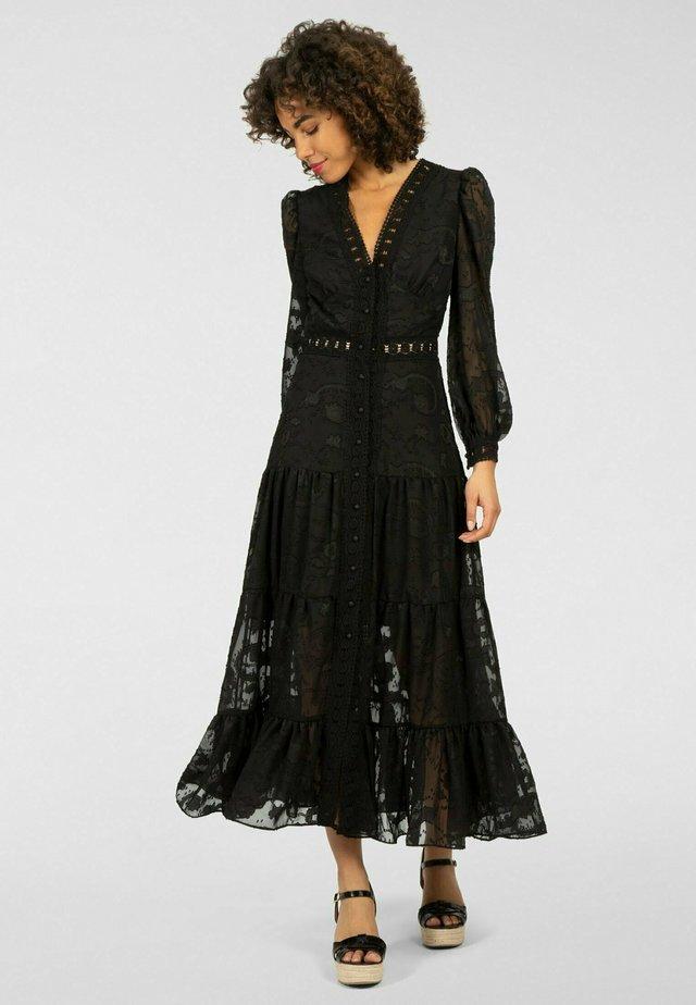 Robe longue - schwarz