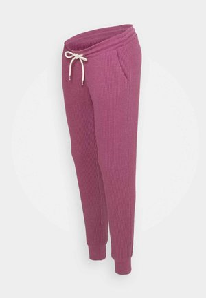 UNDERBELLY - Tracksuit bottoms - deep dahlia