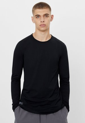STRETCH - Long sleeved top - black