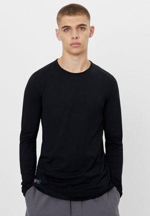 STRETCH - Bluzka z długim rękawem - black