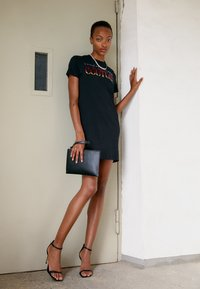 Versace Jeans Couture - DRESS - Jersey dress - black - 2