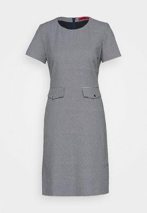 KORINI - Shift dress - open blue
