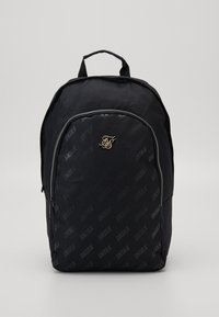 SIKSILK - DIAGONAL REPEAT BACKPACK - Zaino - black - 0