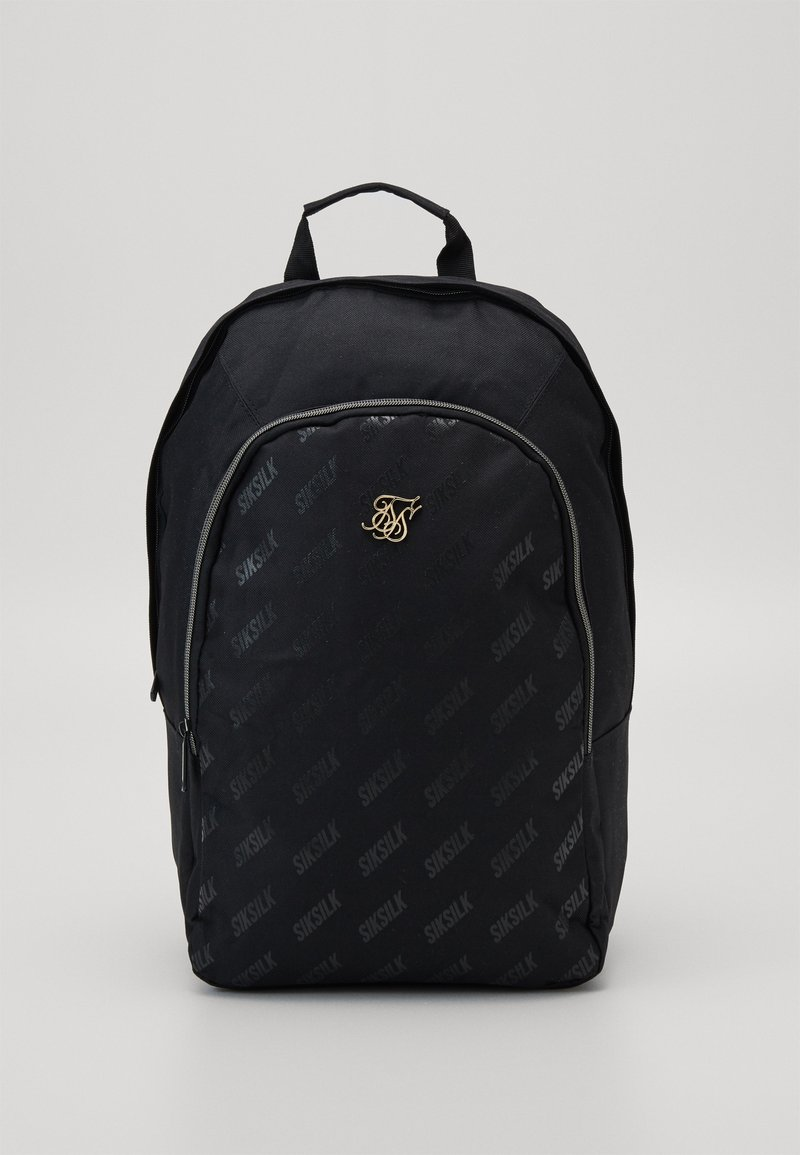 SIKSILK - DIAGONAL REPEAT BACKPACK - Zaino - black