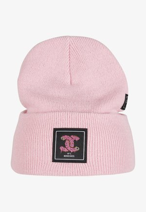Beanie - pale pink/mc