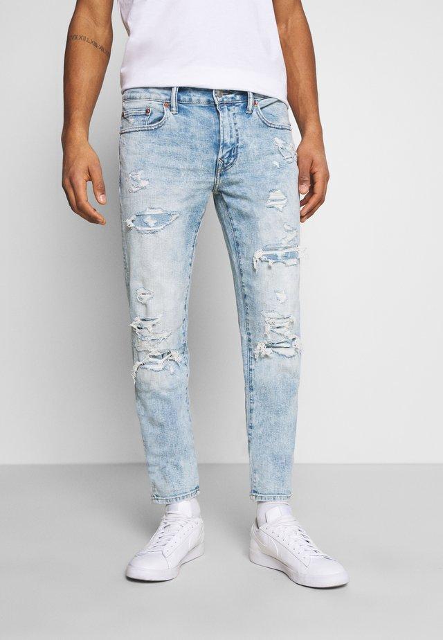 Jeans Skinny Fit - light destroy wash