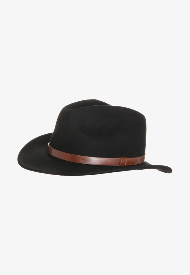 MESSER - Hatt - black