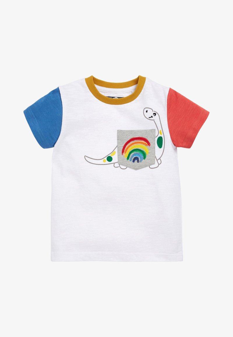 Next - Print T-shirt - off white