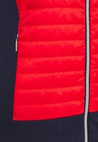 Kjus - WOMEN RETENTION JACKET - Sportovní bunda - fiery red/atlanta blue - 2