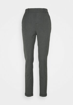 VMMAYA LOOSE SOLID PANT - Pantaloni - medium grey melange