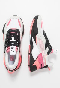 Puma - RS-X REINVENT - Trainers - white/bubblegum - 3