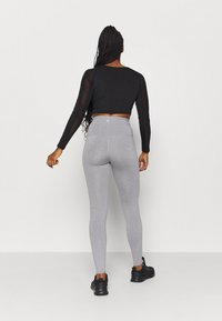 Cotton On Body - ACTIVE HIGH WAIST CORE - Medias - mid grey marle - 2