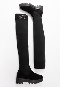 Tommy Jeans - KARLIE 6C - Over-the-knee boots - black - 3
