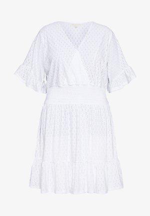 DOLMON - Jersey dress - white