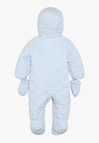 mothercare - BABY QUILTED SNOWSUIT - Snowsuit - blue - 1