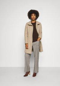 comma - Classic coat - brown mel - 1