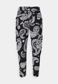 Night Addict - ROZAY - Pantaloni cargo - black - 1