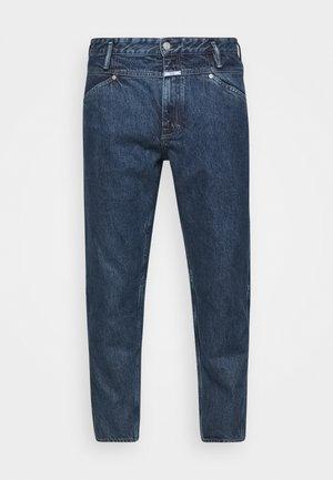X-LENT TAPERED - Jeans fuselé - mid blue