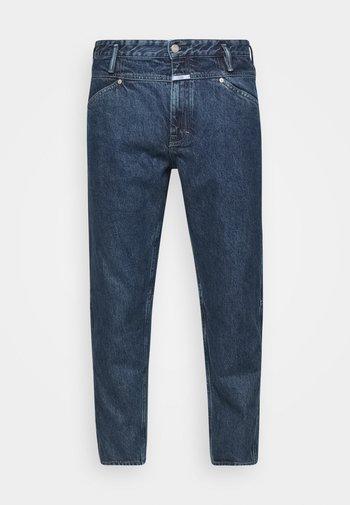 X-LENT TAPERED - Zúžené džíny - mid blue