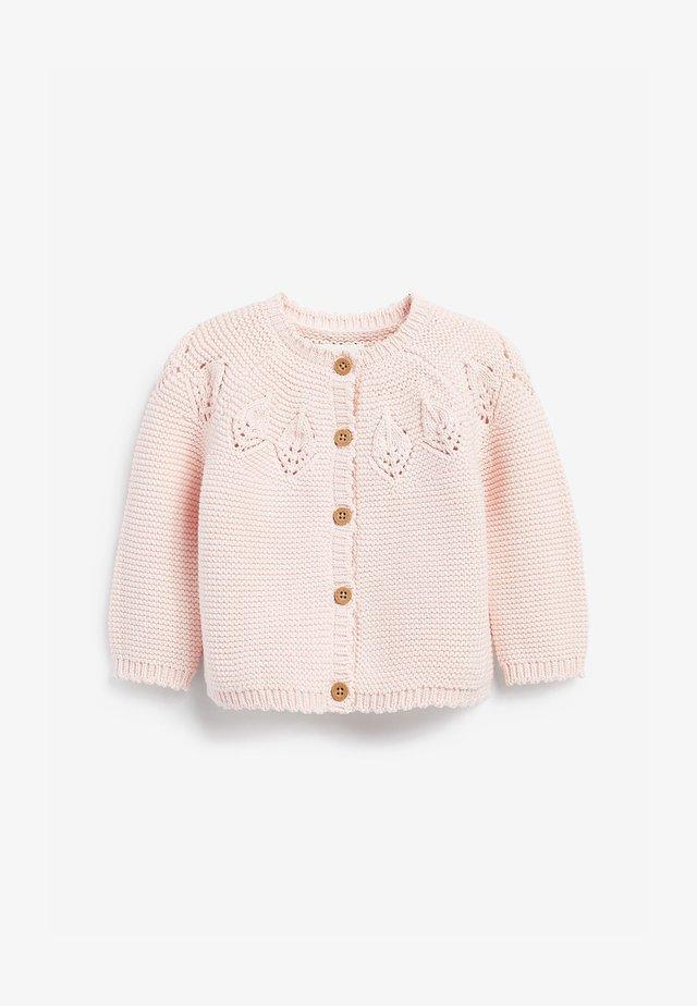 POINTELLE DETAIL - Vest - pink