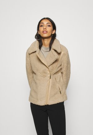 BIKER - Winter jacket - tan