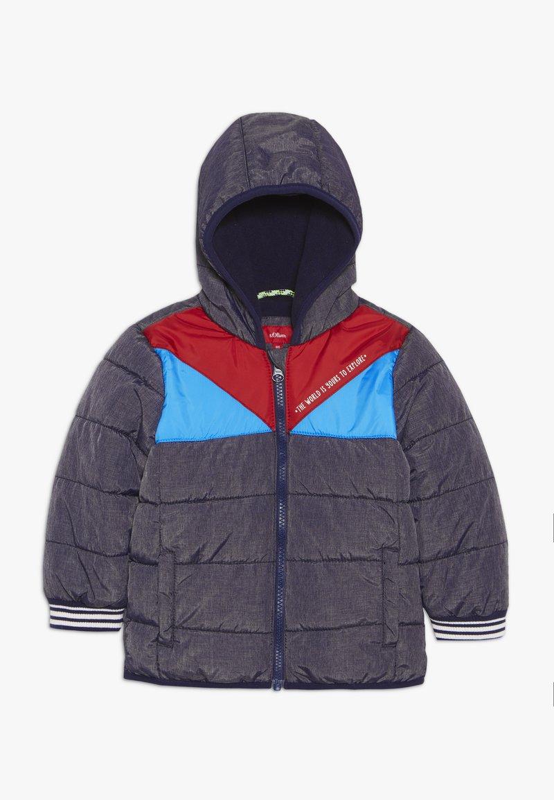 s.Oliver - Zimní bunda - dark blue melange
