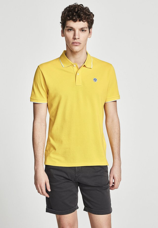 Poloshirt - yellow 0604