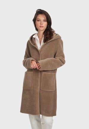 ANGELIQUE - Classic coat - brown