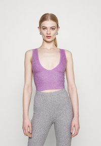 BDG Urban Outfitters - BURN BRIGHTER - Top - mauve - 0