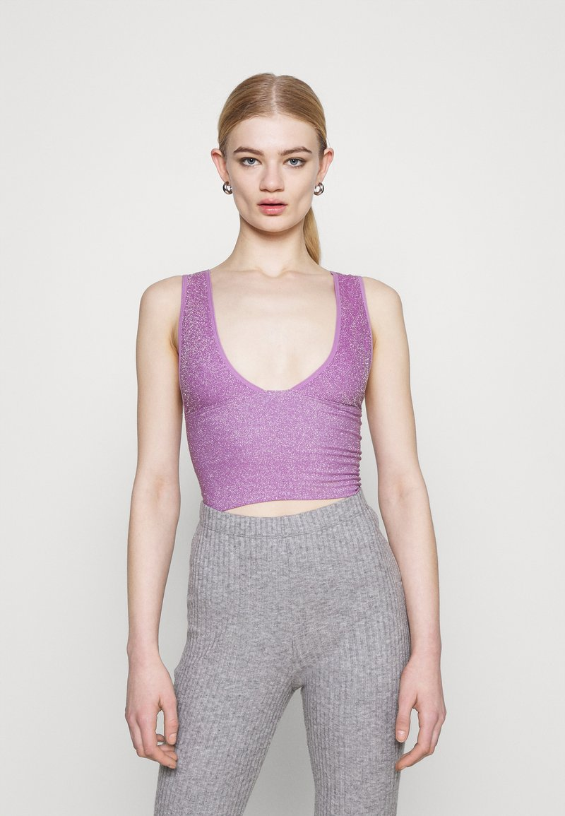 BDG Urban Outfitters - BURN BRIGHTER - Top - mauve