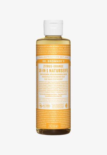 18-IN-1 NATURAL SOAP - Shower gel - zitrus-orange