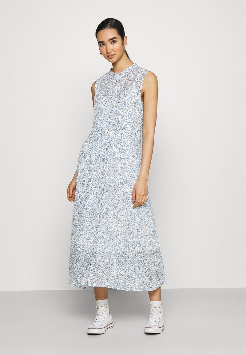 Nümph - BARACA DRESS - Maxi dress - wedgewood