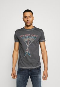 Replay - Print T-shirt - blackboard - 0