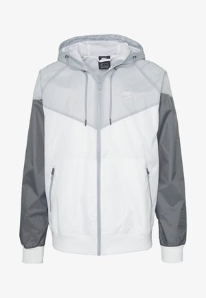 Vindjacka - white/wolf grey/dark grey