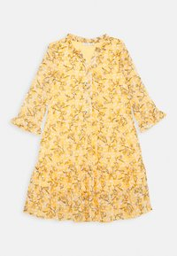 Name it - NKFKIMMIE MIDI 3/4 DRESS - Day dress - spicy mustard - 0