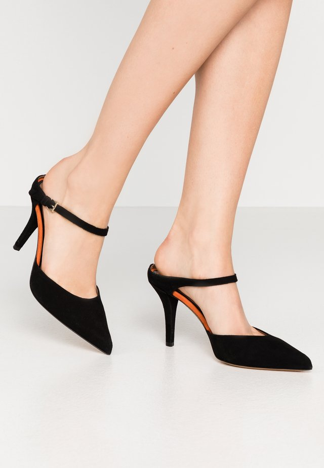 MAY  - Mules à talons - black