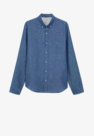 SLIM FIT - Camicia - dunkles marineblau