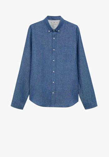 SLIM FIT - Shirt - dunkles marineblau